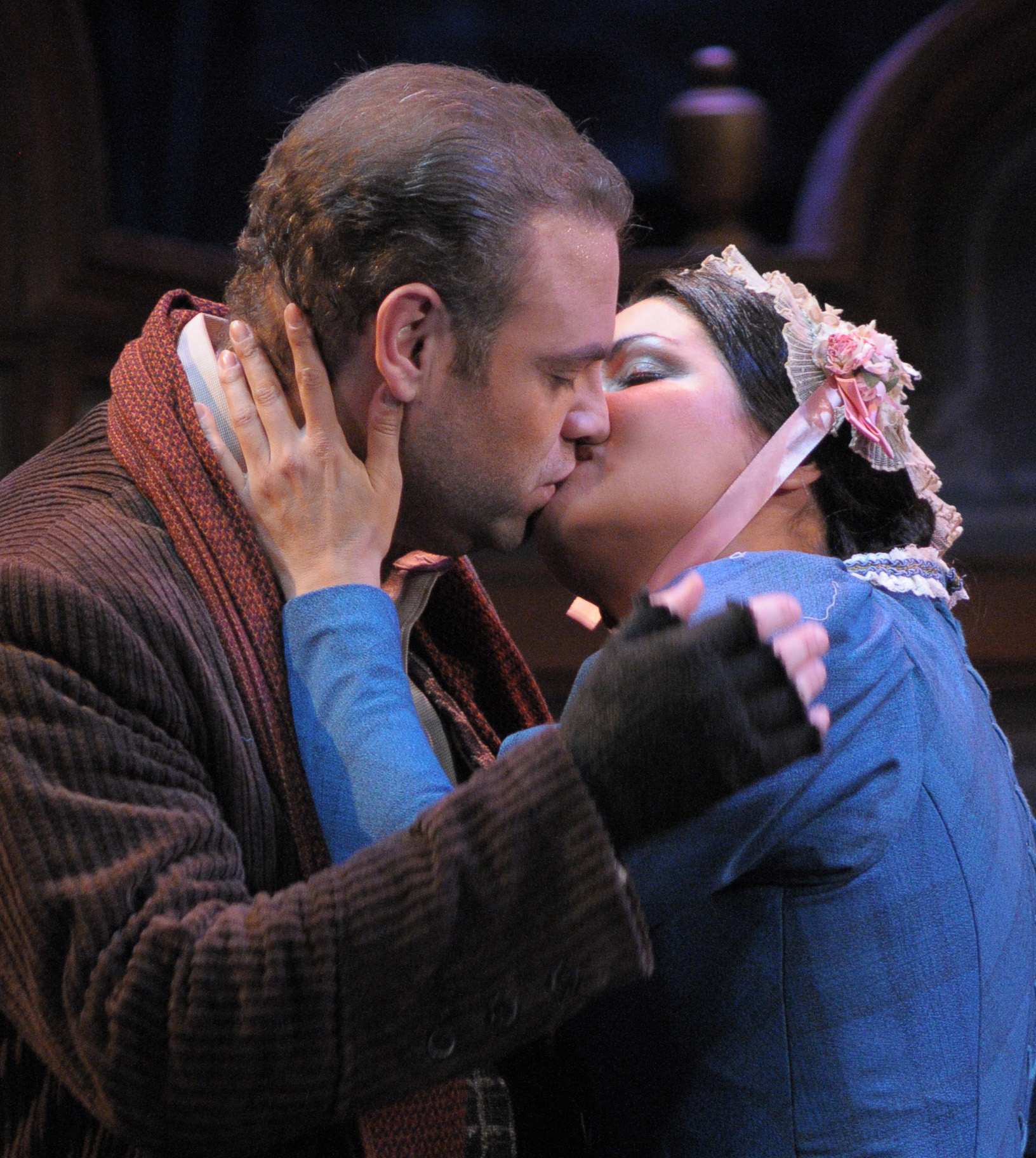 Netrebko and Calleja in La Boheme