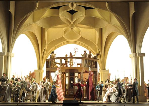 Meistersinger stage shot
