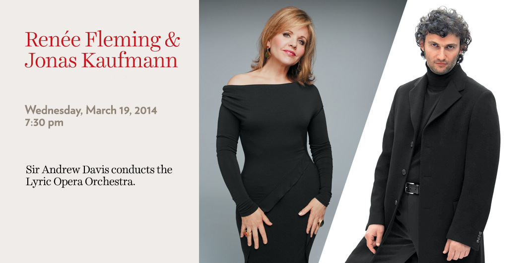 Renee Fleming Jonas Kaufmann