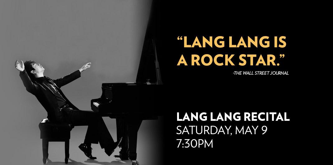 Lang Lang at Lyric Opera