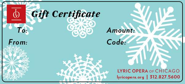Gift Certificate Basic